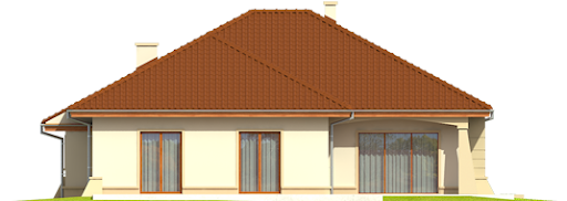 Kornelia II G2 Leca® Dom - Elewacja tylna