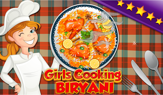 Girls Cooking Biryani Fever 2017 - náhled