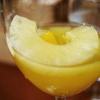 Try This Tropical White Wine Pineapple Sangria