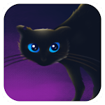 Black Cat Live Wallpaper Icon