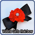 Young Girls Hairbow icon