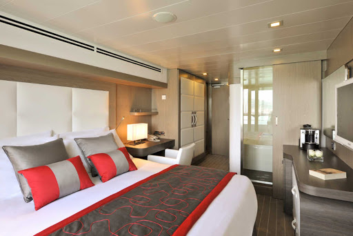 Ponant-LeBoreal-stateroom1.jpg - Relax in your plush, modern stateroom on Ponant's Le Boreal.
