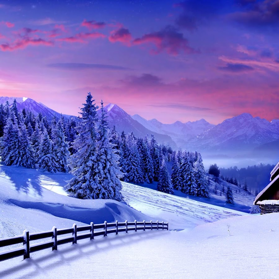 Priroda Zimi Slike Za Pozadinu Android Aplikacije Na