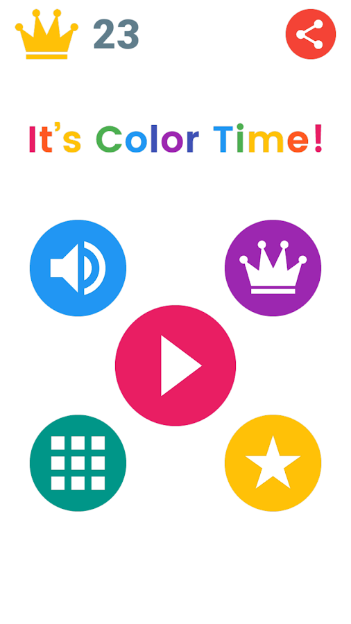 It's Color Time!- screenshot