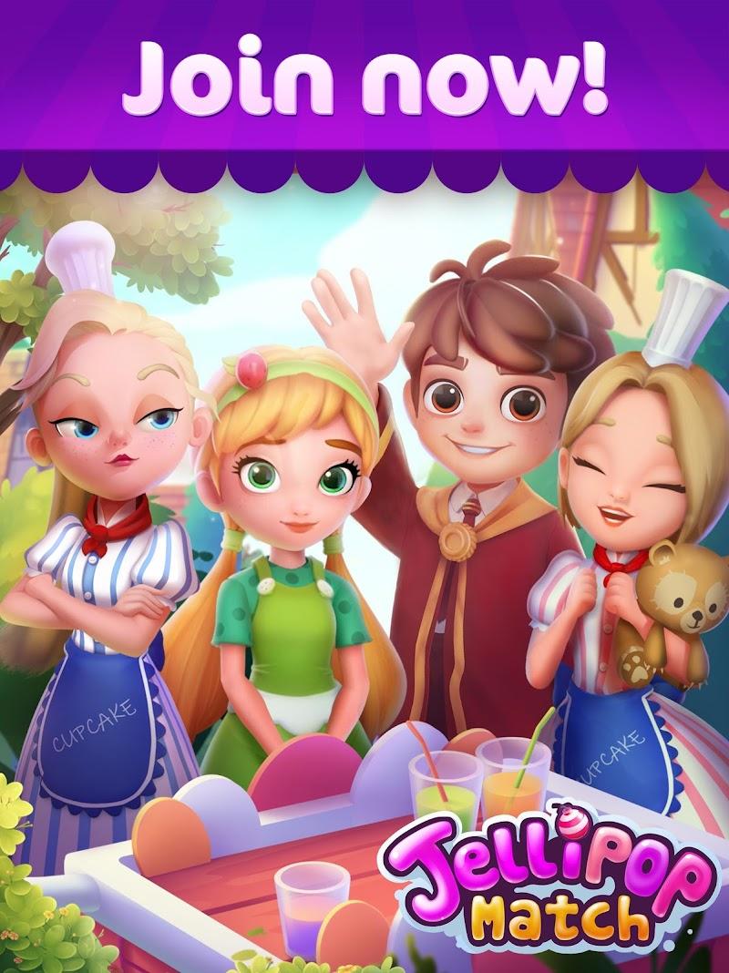 Jellipop Match: Open your dream shop! Screenshot 9