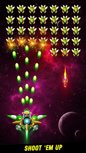 Galaxy Attack: Perang Alien Invaders Mod