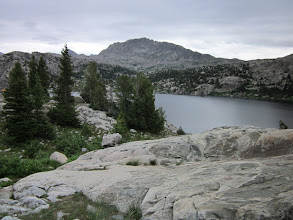 Photo: The trail pops up onto a great lookout above Senecca Lake