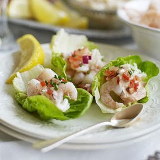 Prawn & Crab Cocktail Lettuce Cups