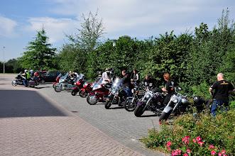 Photo: motoren parkeren en naar VanderValk Wolvega om mee te doen met de brunch...lekkerrr hoorrrrr!