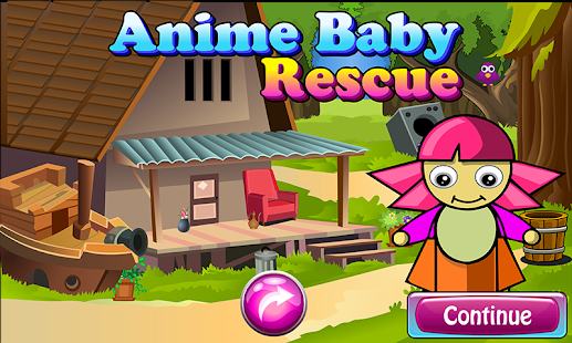 Anime Baby Rescue Game 136 - náhled