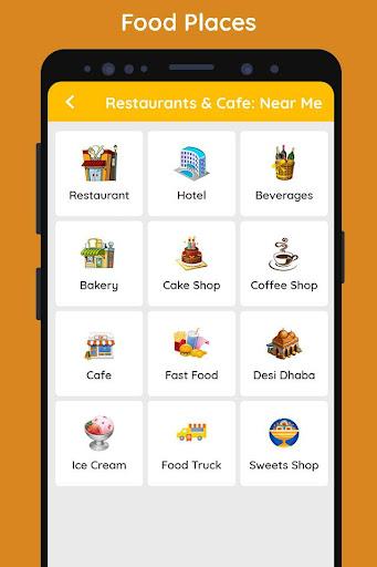 Restaurants & Cafe: Near Me screenshot 1