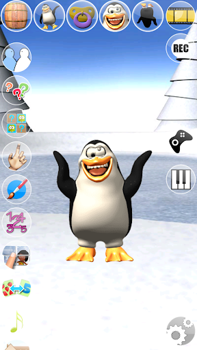 Sweet Little Talking Penguin apkpoly screenshots 7