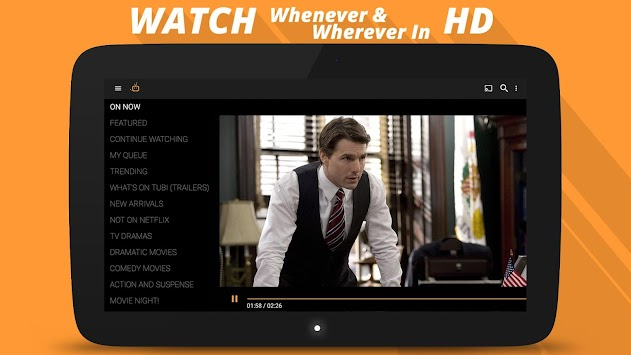 Tubi TV - Free Movies & TV APK screenshot thumbnail 9
