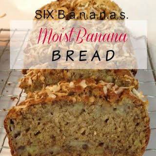 6 Banana Banana Bread.
