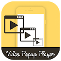 Multiple Video Popup Player -Floating Video Player icon