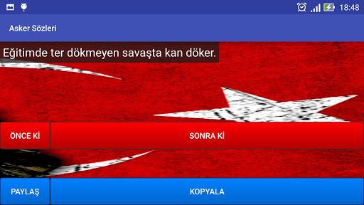 Asker Sözleri 玩程式庫與試用程式App免費 玩APPs
