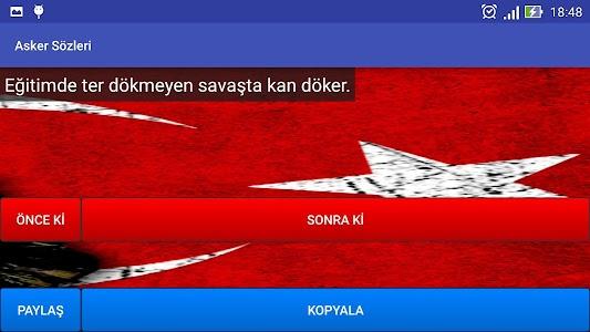 Asker Sözleri screenshot 7