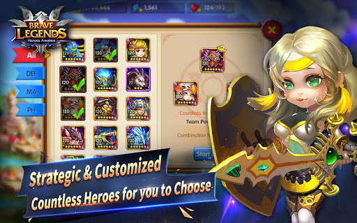 Brave Legends: Heroes Awaken for PC