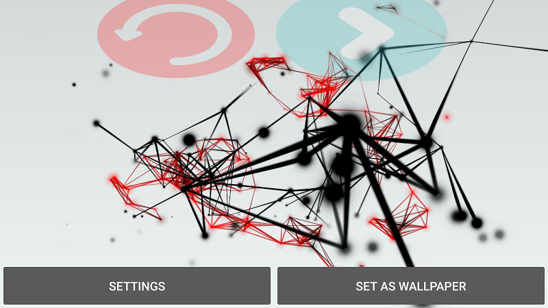 Abstract Particles Wallpaper Screenshot 15