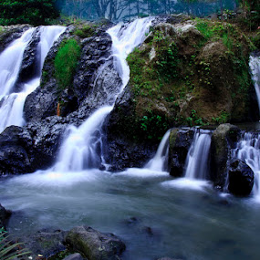 Waterfall by Basuki Mangkusudharma - Landscapes Waterscapes ( waterfall )