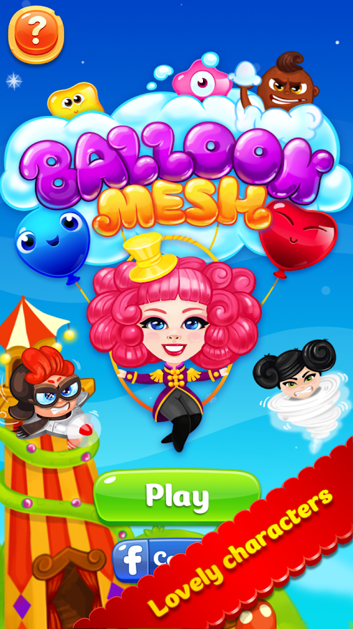 Balloon Mesh: Match 3 game- screenshot