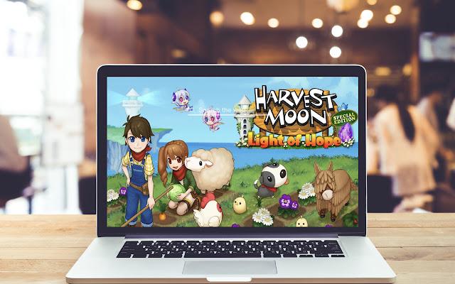 Harvest Moon Light Hope Wallpapers Game Theme