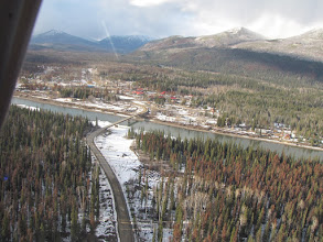 Photo: Fort Ware B.C. about half way from Mackenzie to Watson Lake