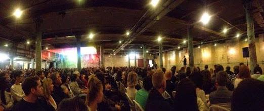 Photo: London crowd (photo by Remi Jansons)