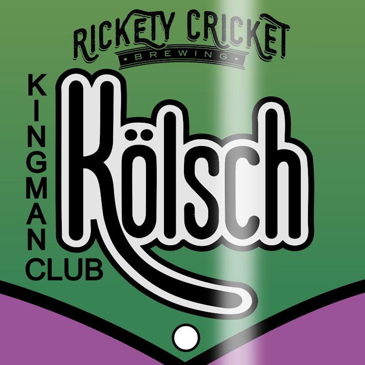 Logo of Rickety Cricket Brewing Kingman Club Kolsch