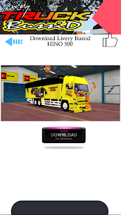 Mod Truck Bussid Full Strobo 1.1 Mod + Data Download 3