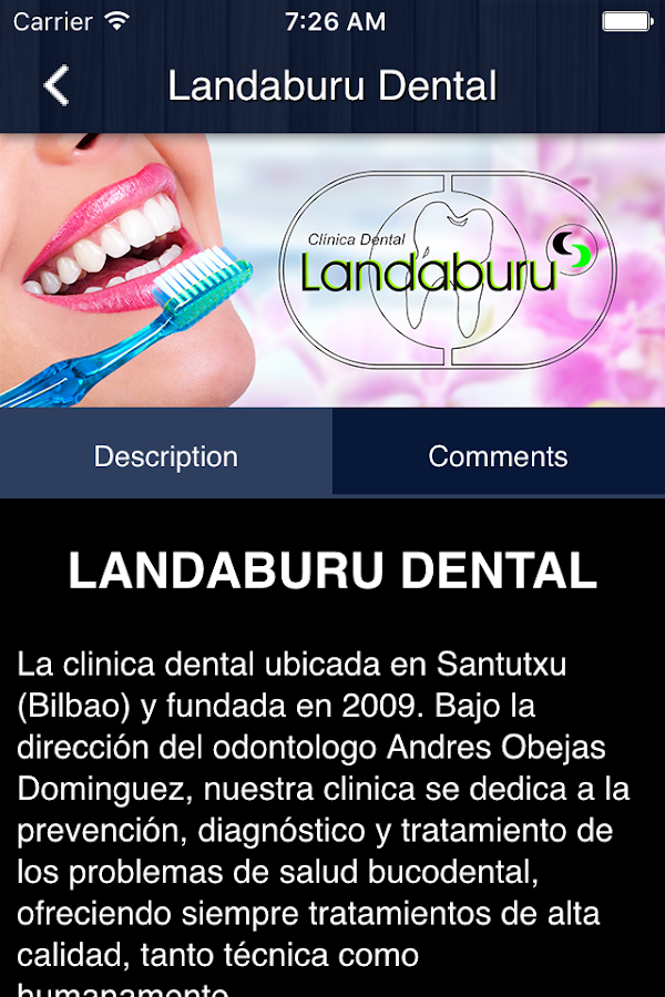 LANDABURU DENTAL- screenshot