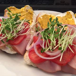 Summer Ham Sandwich
