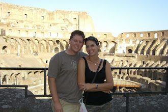 Photo: Brave warrior and servant at the Colosseum