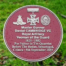 Daniel Cambridge VC cropped grey smler