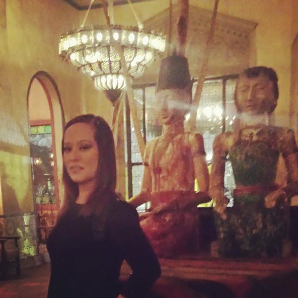 Photo: Inside Hotel Figueroa in DTLA Saturday night.