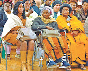 The funeral service for Mama Zondeni Veronica Sobukwe was disrupted on Saturday morning.