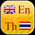 English - Thai flashcards icon