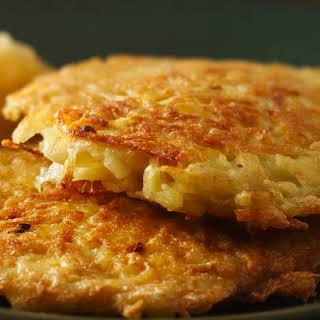 Bisquick® Potato Pancakes.
