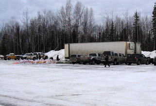 Photo: WIL - Materials in Willow waiting for load out
