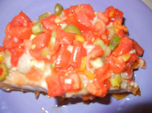 Oh So Yummy Mediterranean Salmon-connie's Recipe