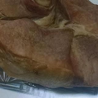 Baked Ham with Sweet Gravy.