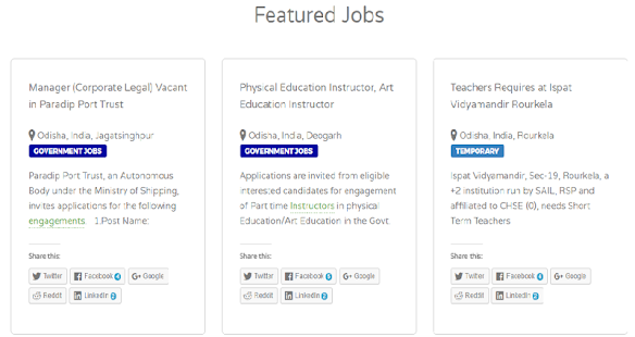 Odisha Jobs | Government & Private Jobs In odisha- screenshot thumbnail