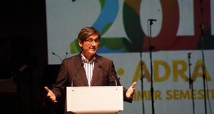Manuel Cortés, alcalde de Adra.