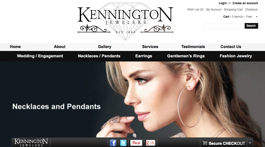 Kennington Jewelers Homepage