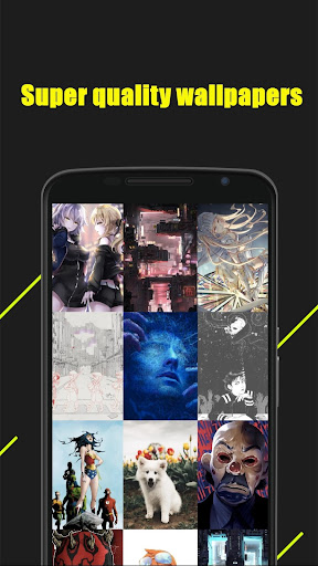 Magic Dynamic Wallpaper — HD mobile theme screenshot 2