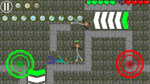 Stickman Warriors My Craft Online 8 screenshots 4