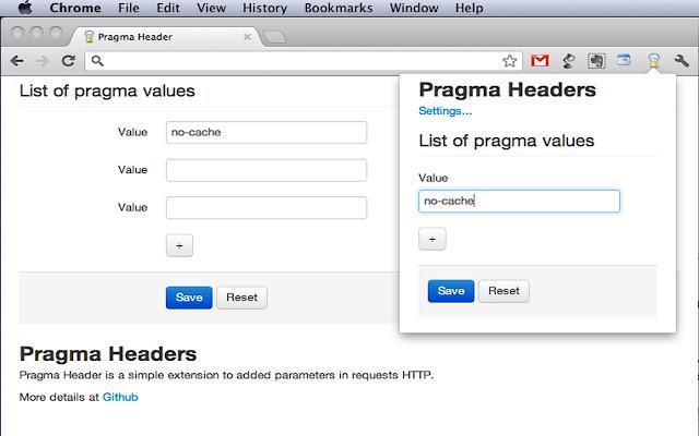 Pragma Header