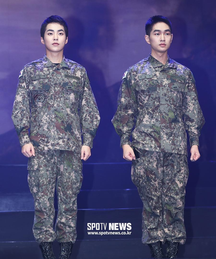 exo xiumin 2019 army 7