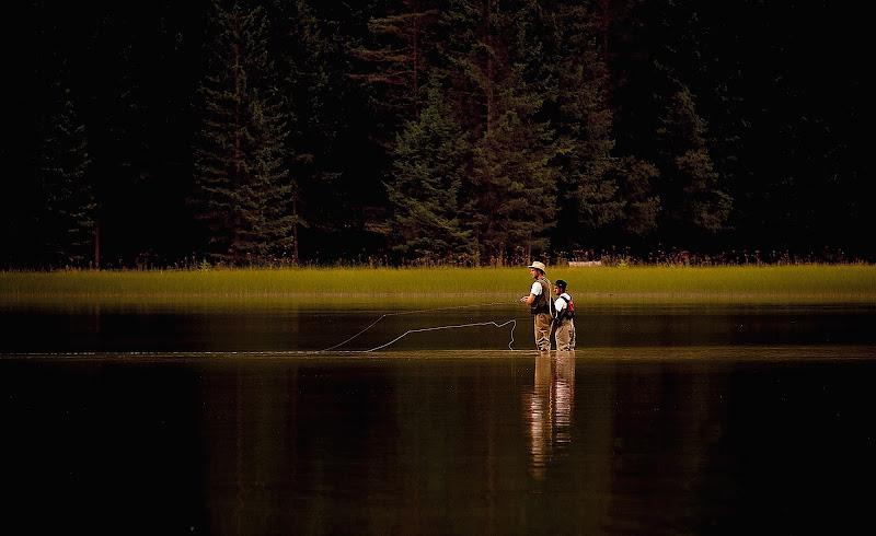 pesca sportiva con la mosca di artu