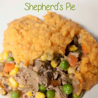Sweet Potato Turkey Shepherd's Pie